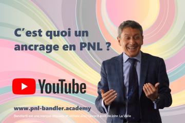 En PNL, qu'est-ce qu'un ancrage ? Avec Frank Bleines, formateur PNL certifié Richard Bandler