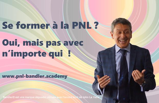 Formation de praticien PNL par F. Bleines, certification R. Bandler