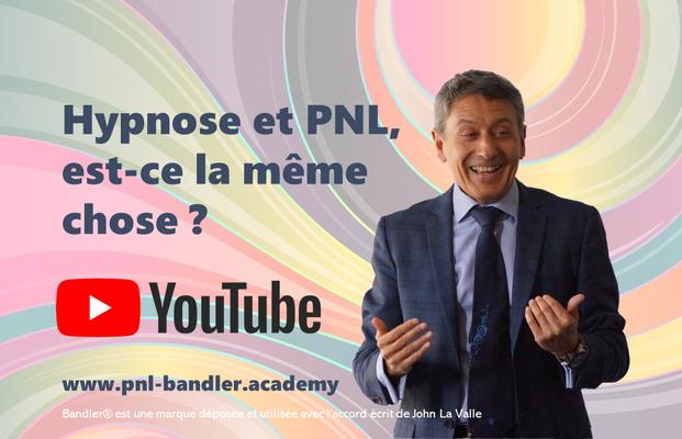 Hypnose et PNL, similarités et différences, avec Frank Bleines, formateur PNL certifié Richard Bandler