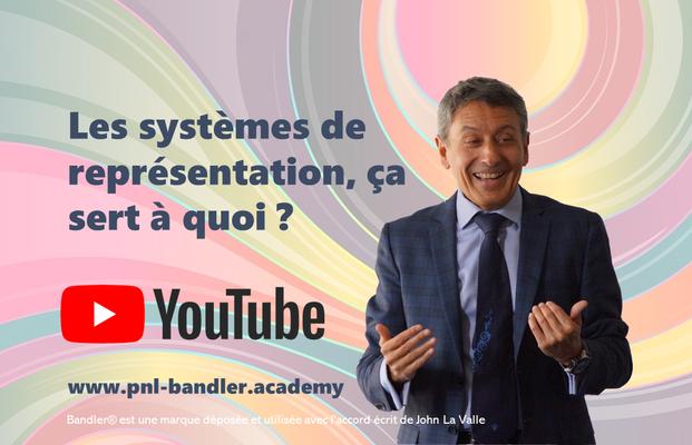 Utilité des systèmes de représentation en PNL, par Frank Bleines, formateur PNL certifié Richard Bandler