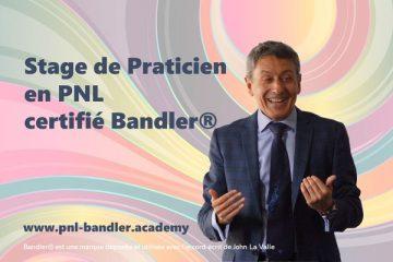Inscriptions au stage de Praticien PNL certifié Banfler(R), animé par Frank Bleines