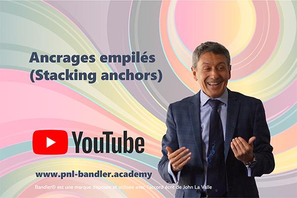Cette vidéo montre comment installer des ancrages empilés positifs qui permettent à un individu d'utiliser ses ressources
