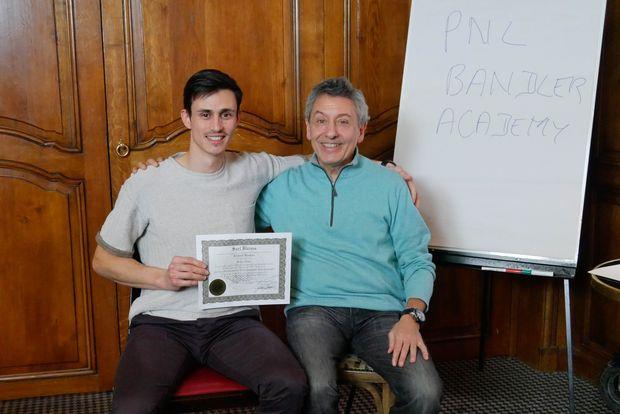 Certificat stage praticien PNL Bandler Academy